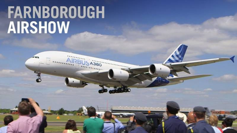 Here's What We're Missing With No Farnborough Flying Display in 2020